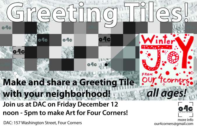 Greeting Tile Promo Flyer